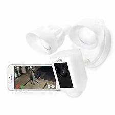 Ring Floodlight Camera White