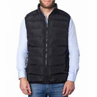Alpine Swiss Mens Lightweight Down Alternative Puffer Vest Sleeveless Jacket