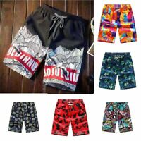Couple Summer Beach Casual Shorts Athletic Gym Sports Swimwear Short Pants Men