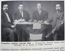 Finnish-American Labor Movement History 1951 HC in Finnish
