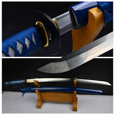 Hand Forge High Manganese Steel Blade Japanese Samurai Sword Sharp Katana#150