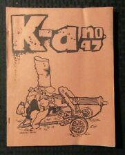 1968 Sept K-A Fanzine #47 GD+ 2.5 Vaughn Bode / Jerry Bails