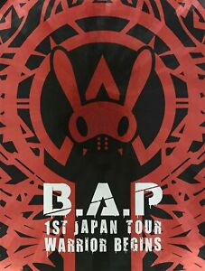 B.A.P 1ST TOUR LIVE DVD WARRIOR Begins Limited Edition W/Photobook JP NEW