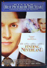 Finding Neverland (Awards) 2004 Original Movie Poster 27x40 Rolled Double-Sided