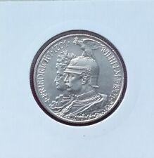 """Preußen: 2 Mark """"200 Jahre Königreich"""" 1901 -A- (gutes Kaiserreich-Silber)!!"""
