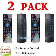 2 X 2.4G Remote Control Air Mouse Wireless Keyboard for XBMC Android Mini TV Box