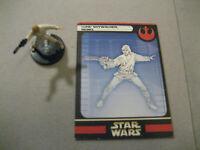 Star Wars Miniatures Luke Skywalker #10 With Card