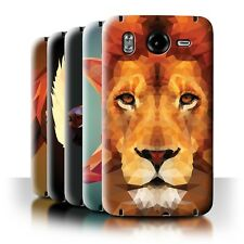 STUFF4 Back Case/Cover/Skin for HTC Desire HD/G10/Geometric Animal Wildlife