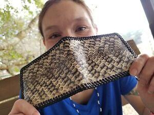 NEW Authentic COBRA SNAKE Wallet Men Billfold Gator Original Slim Pocket NWOT