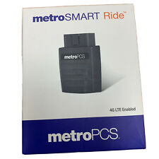 NEW METRO PCS SMART RIDE BLACK 4G LTE ENABLED WIFI HOTSPOT WITH GPS TRACKING