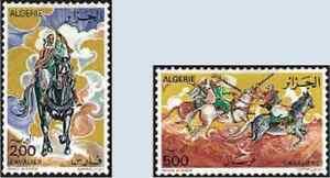 Timbres Chevaux Algérie 671/2 ** (33977E)