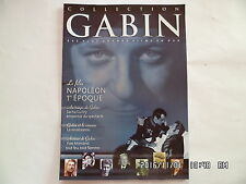 FASCICULE COLLECTION GABIN N°34 NAPOLEON 1ERE EPOQUE  D33