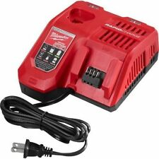 New RAPID GENUINE Milwaukee M12 M18 18V 48-59-1808 Battery Charger 12 18 Volt