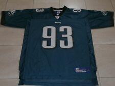 PHILADELPHIA EAGLES  #93 KEARSE GREEN REEBOK NFL FOOTBALL JERSEY MEN XL