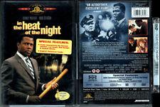 DVD Sidney Poitier IN THE HEAT OF THE NIGHT Rod Steiger Warren Oates OOP R1 NEW