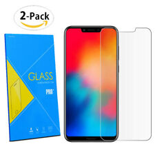 """For Huawei Honor Play 6.3"""" - 2-Pack Tempered Glasses Screen Guard Protector Film"""