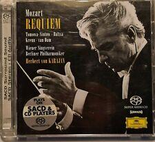 Mozart Requiem Herbert von Karajan Super Audio CD (Hybrid)