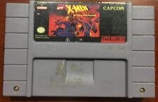X-Men Mutant Apocalypse cartridge tested working Super Nintendo SNES
