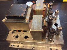 REDUCED  grundig NF-2 tube amplifier el84 20 6bq5