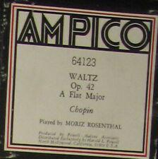 Waltz- Op42 - Chopin Ampico roll no. 64123