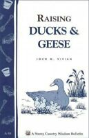 Raising Ducks and Geese, Paperback by Gardenway Book (EDT), Like New Used, Fr...