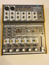 MACKIE Tapco Mix 100 - 10-Channel Mixer. No leads/cables/power supply