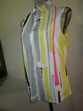 Jamie Sadock Multi-color Sleeveless Golf Top size Medium
