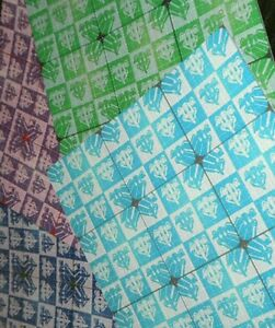 9 Panel Psychedelephants Blotter Art Prints All 4 color variants complete set