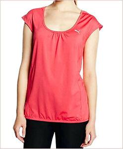 PUMA Underwear Sport Woman Tank Tops T-Shirt Pink Size M/42 Running Cool Cell