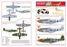 Kits-World 1/48 P-51D Mustang Cpt. Charles Weaver 357th FG # 480