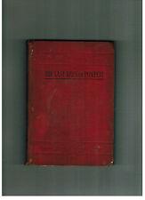 SIR EDWARD BULLER LYTTON The Last Days of Pompeii - antique edition circa 1875
