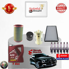 Kit de Mantenimiento Filtros Aceite Bujías Alfa Romeo Gtv 3.0 V6 24v 162kw 1996