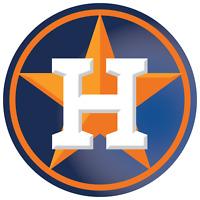Houston Astros Circle Star Logo Vinyl Decal / Sticker 10 Sizes!!!