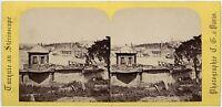 Turchia Turkey Costantinopoli Stereo F M Good Vintage Albumina Ca 1865