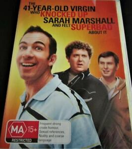The 41-Year-Old Virgin Who Knocked Up  - DVD - Region 4 - Brand New and Sealed