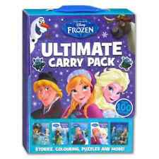 Girls Disney Frozen ULTIMATE CARRY PACK Paperback Autumn NEW!!!!