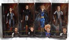 New Hunger Games Catching Fire Barbie 4 Doll Set Katniss Peeta Finnick Effie NIB