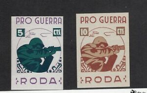 SPAIN SPANISH CIVIL WAR LOCALS RODA