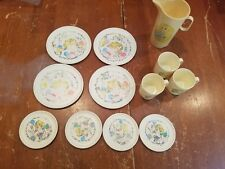 Vintage Chilton Play Dishes Set Lot  Barbie