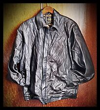 Leather Jacket Made by the Famous GANI of Mayfair. Real Buffalo. Stunning.