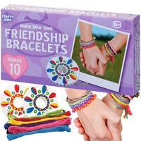 MAKE YOUR OWN FRIENDSHIP BRACELETS KIT ACTIVITY CRAFT CHRISTMAS STOCKING FILLER