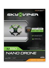 Sky Viper UL Certified Nano Drone with 1-Touch Flips & Barrel Rolls (Open Box)