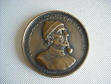 Médaille Commandant Jacques Yves Cousteau en l'état SPL (213 Grs 9 cm env)