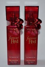 2 BATH & BODY WORKS FOREVER RED FINE FRAGRANCE MIST BODY SPRAY 8OZ PERFUME LOT