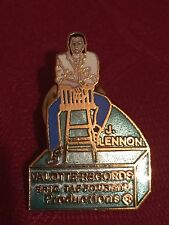 Rare The Beatles John Lennon Julian Lennon  Valotte Records Promo Pin Badge