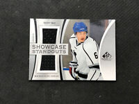 2019-20 SP GAME USED BRADY SKJEI SHOWCASE STANDOUTS DUAL JERSEY #SS-BS