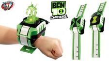 Ben 10 Omnitrix Shuffle Watch with Lights & Sounds plus 4 Green Toppers, Bandai