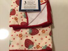 Kitchen Towel, Dish Cloth, Scrubber Cloth ,  SET OF 3