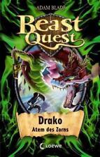 Drako, Atem des Zorns / Beast Quest Bd.23 von Adam Blade (2012, Gebundene Ausgabe)