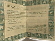 Rolex Garanzia Guarantie Daytona 6263 1680 16660 16750 1665  paper certificate